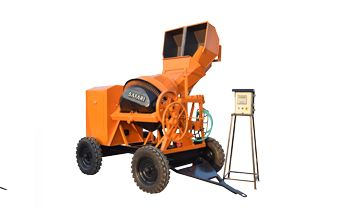 Safari Concrete Mixer with Digital Weighing System price in India