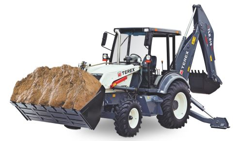 Terex TLB 818 Backhoe Loader Center Mount price in india