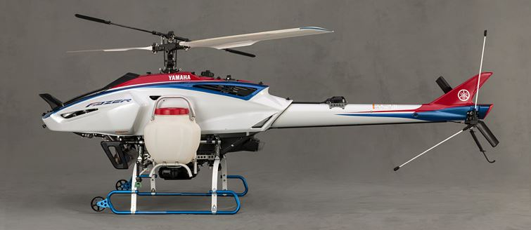Yamaha Fazer Helicopter Specifications