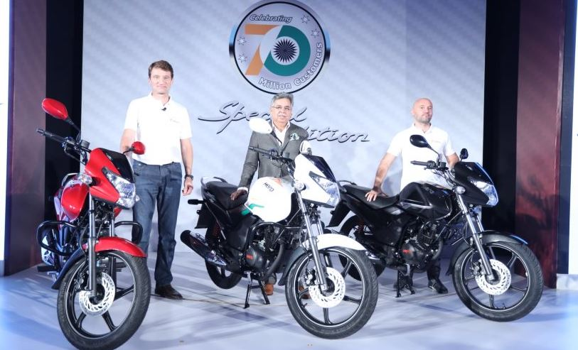 Hero Achiever 150 Bike colors