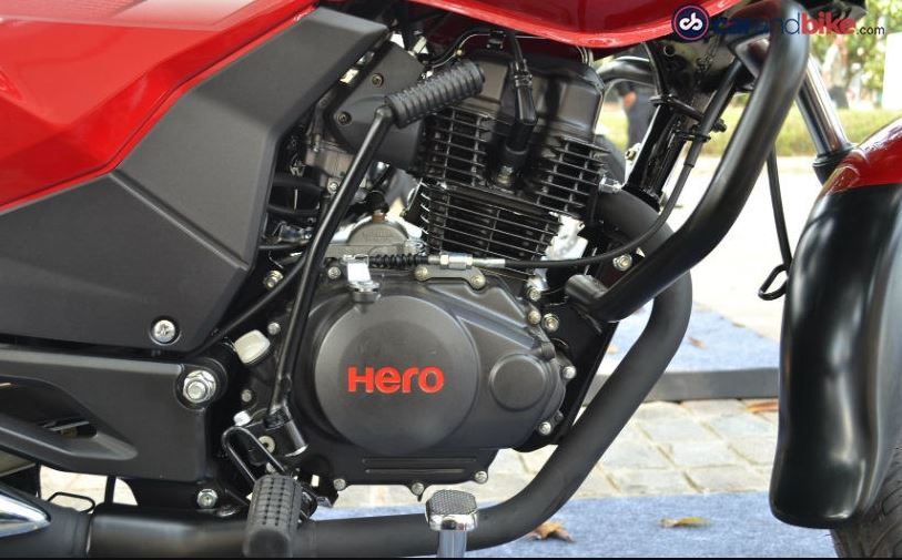 Hero Achiever 150 Bike engine