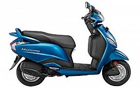 Hero Maestro Deluxe scooter mileage