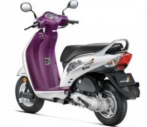 Honda Activa i DLX scooter mileage