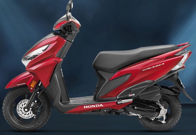 Honda Grazia Scooter color 3