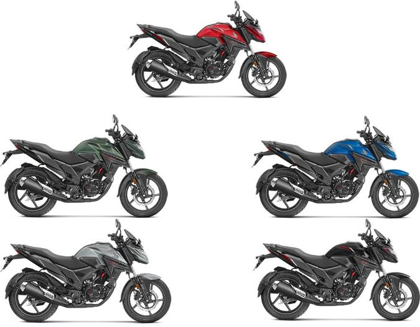 Honda X blade Bike Colors