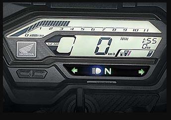 Honda X blade digital meter