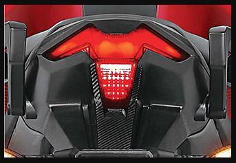 Honda X blade tail lamp