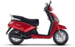 Mahindra Gusto DX scooter mileage
