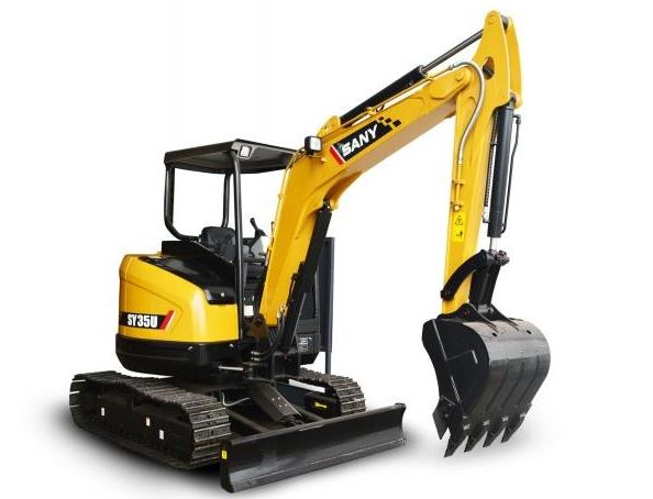 SANY SY35U-Tier 3 Mini excavator Price in India