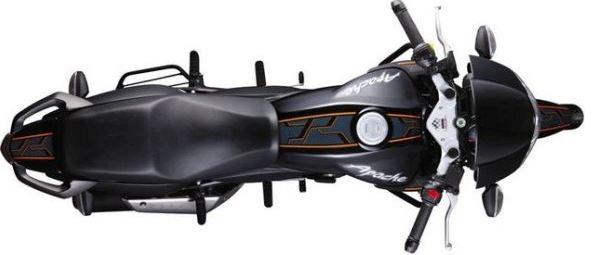 TVS Apache RTR 160 bike style