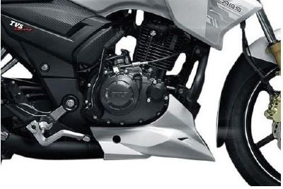 TVS Apache RTR 180 abs engine