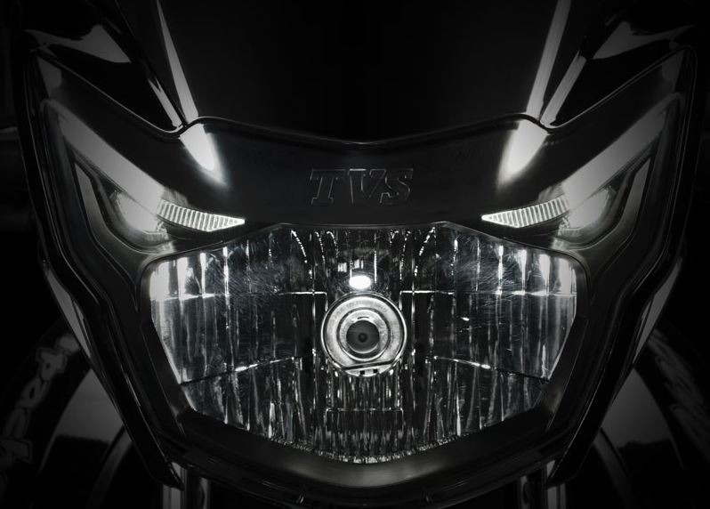 TVS Apache RTR 180 bike front head light