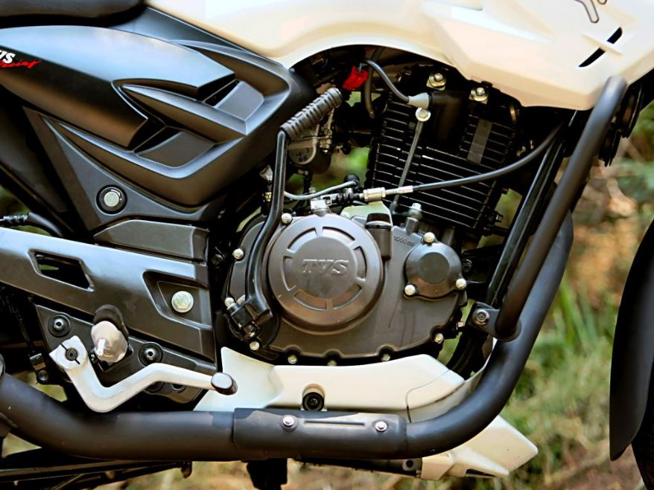 TVS Apache RTR 180 engine
