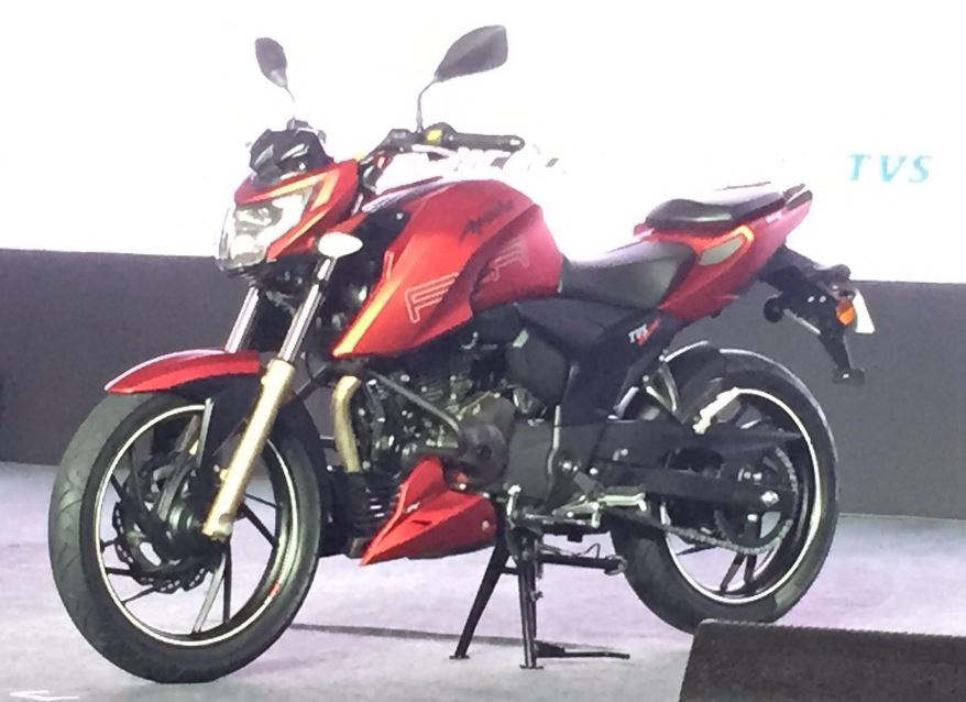 TVS Apache RTR 200 4V top speed