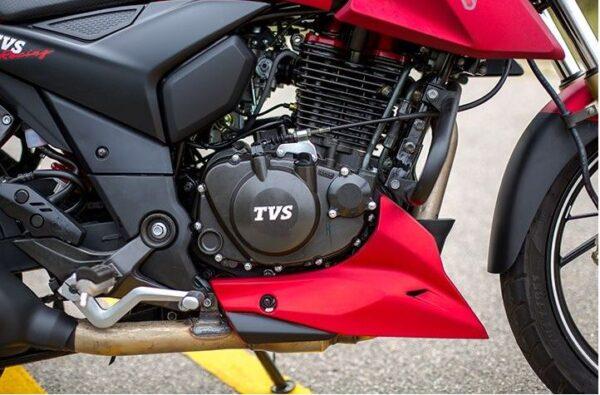 TVS Apache RTR 200 4V Bike engine