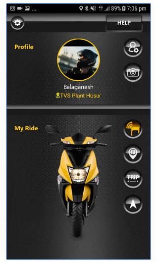 TVS NTORQ 125 mobile app download