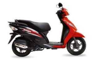 TVS Wego Disc scooter mileage