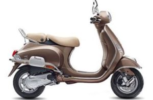Vespa Elegante scooter mileage