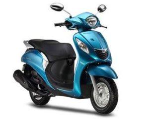 Yamaha Fascino scooter mileage