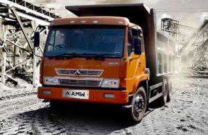AMW  2523 TP box body Tipper Price in India