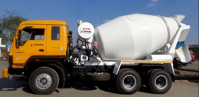 KYB Conmat Transit Mixer Specifications & Price