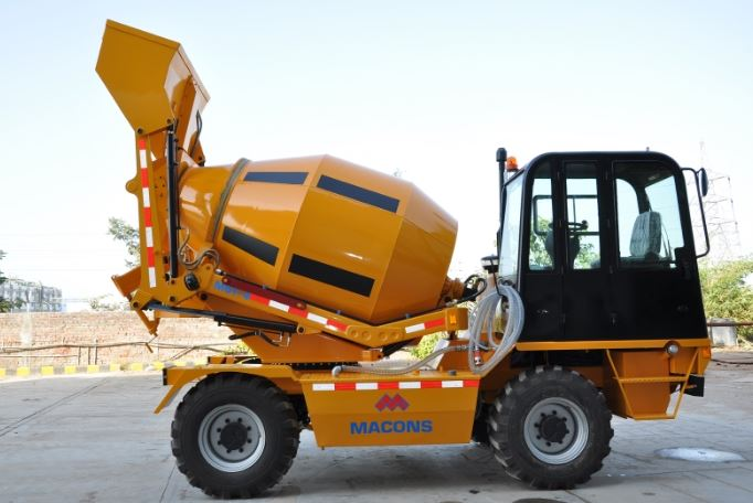 Macons Self Loading Transit Mixer Price Specs & Features