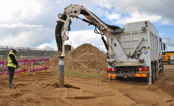 Suction excavators