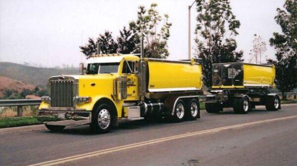 Transfer Dump Truck