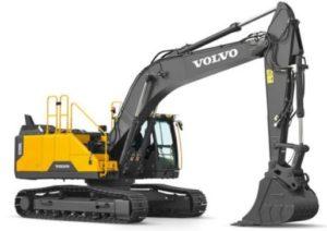Volvo EC250ECrawler excavator