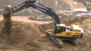 Volvo EC380Dexcavator