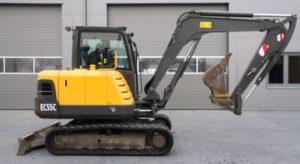Volvo EC55CCrawler excavator