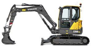 Volvo ECR58D Compact excavator