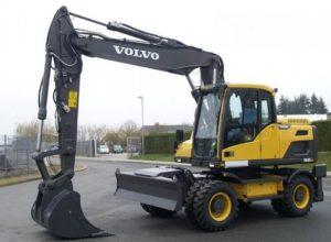 Volvo EW160D Wheeled excavator