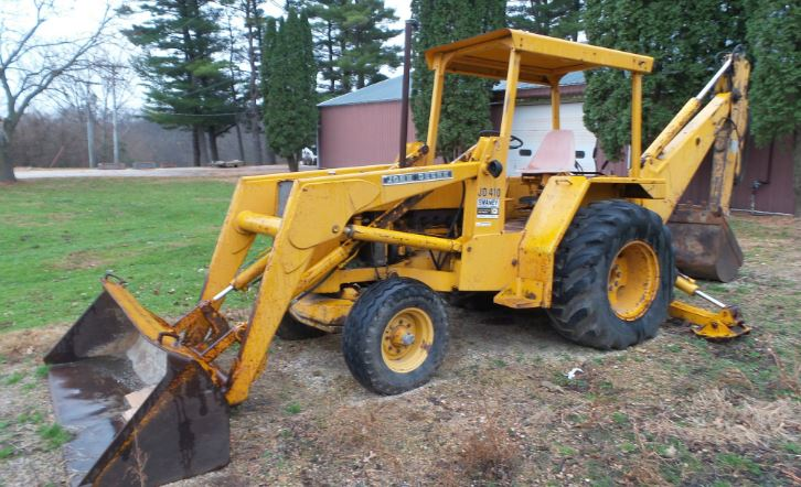 410 John Deere Backhoe For Sale, Parts Specs, Review, Price & Images