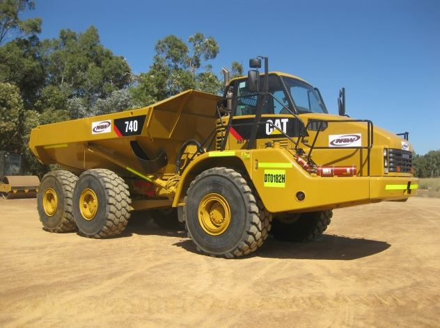 CAT 740 Articulated Dump Truck Specs Price Features Review & Images
