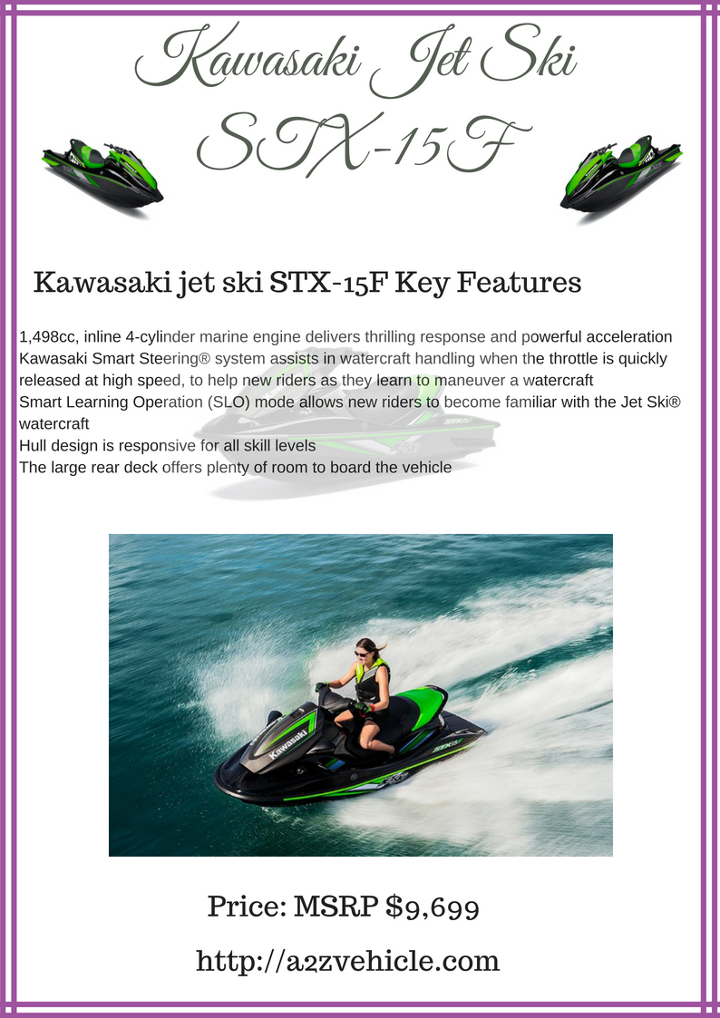 Kawasaki jet ski STX-15F problems