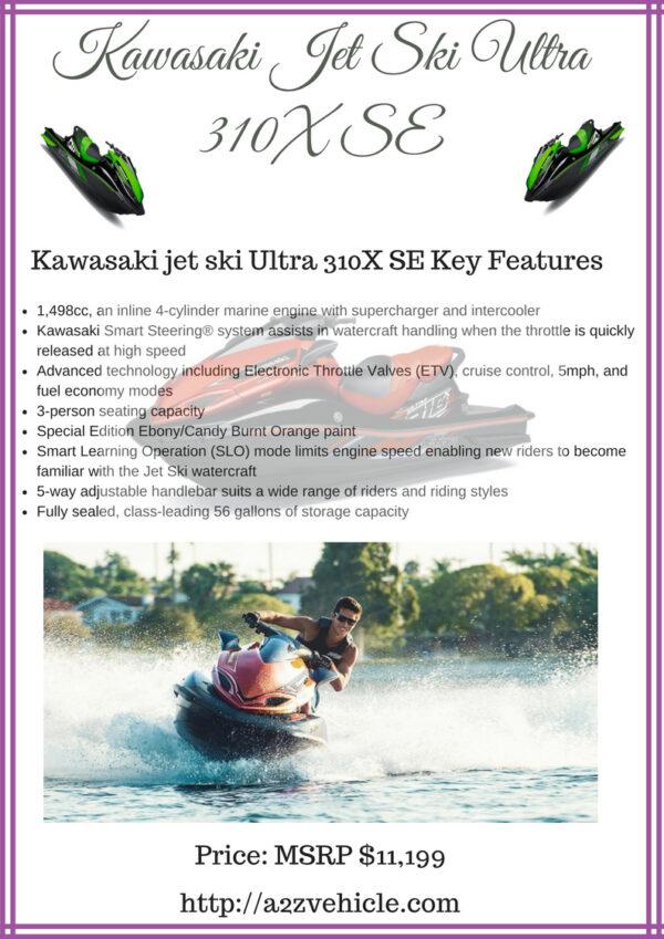 Kawasaki jet ski Ultra 310X SE price specs