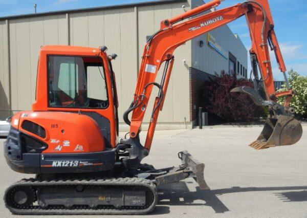 Kubota kx121-3 Mini Excavator Key Facts