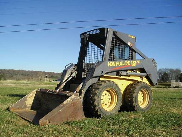 New Holland LS170 Skid Steer Loader Price