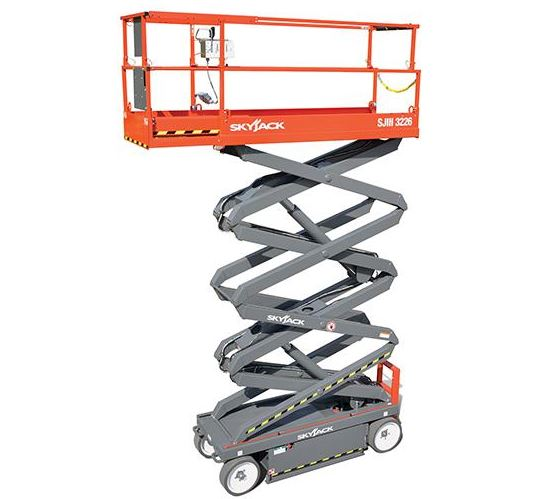 Skyjack SJIII 3226 Electric Scissor Lifts Specs Price & Key Features