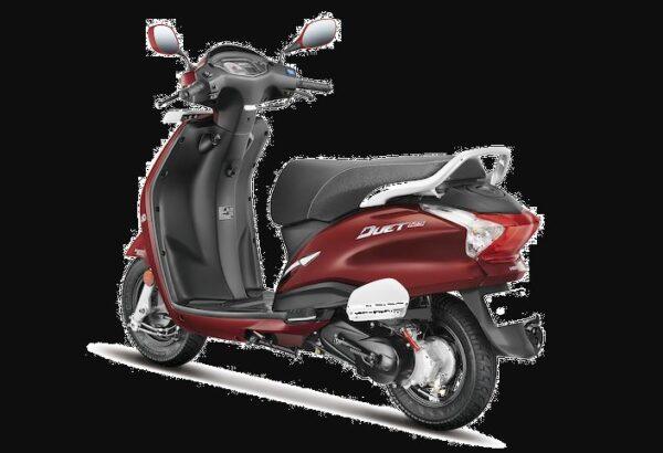 hero duet 125cc colours
