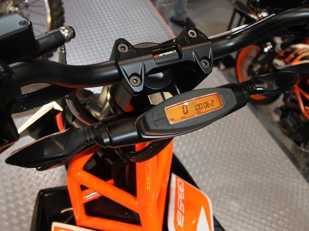 ktm e speed electric scooter desh panel