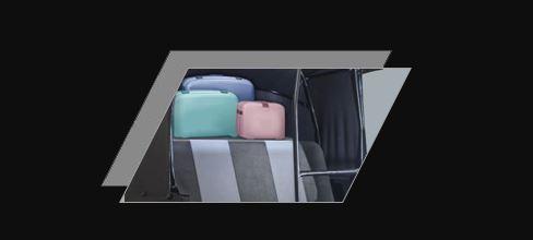 Atul Gemini Diesel Auto Rickshaw Ample luggage space