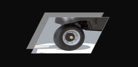 Atul Gemini Diesel Auto Rickshaw Low turning radius for a quick turn