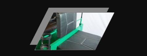 Atul Gemini LPG Auto Rickshaw COMFORT SEATING FOR DRIVER