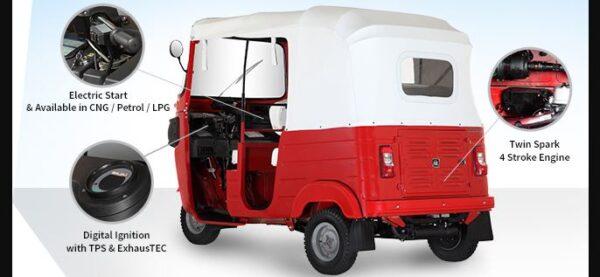 Bajaj RE 4S Auto Rickshaw engine perfroamce