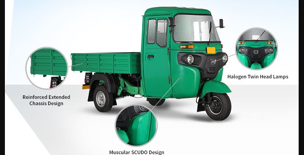 Bajaj RE Maxima Cargo safety