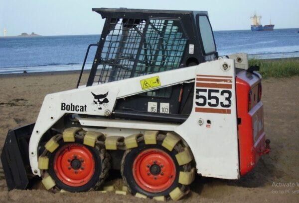 Bobcat 553 Skid Steer Loader Specs Overview