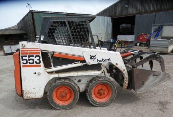 Bobcat 553 Skid Steer Specifications