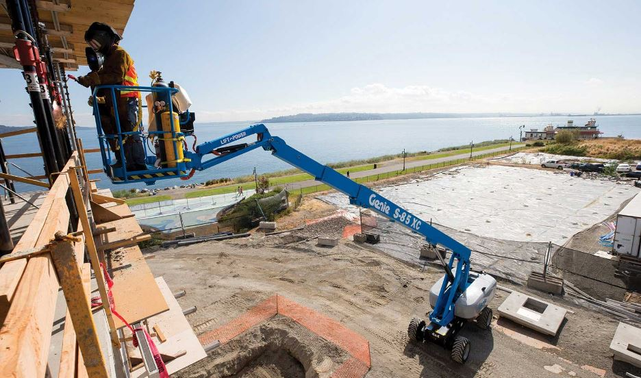 Genie S-85 XC telescopic booms Lift price specs